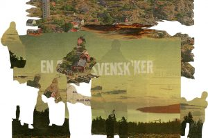 Collage 40 x 30 cmThis work was made on residency in Sweden during the beginning of migration movements