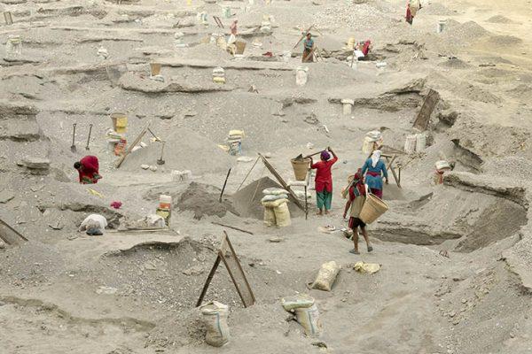 Aftershock Seti Sand Mine