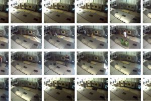 Taken over a 24-hour period from a cctv camera.