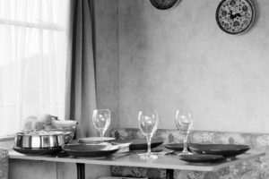 A Dinner for Three. From the series 'Fragments'.