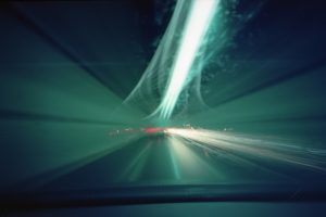 Holga 120 WPC - 2 minute exposure
